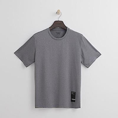 Hang Ten - 男裝 - Thermo Contro LOGO T恤-淺灰色