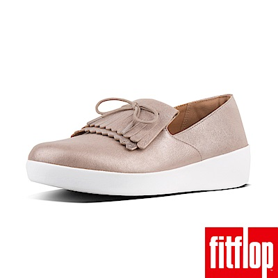 FitFlop SUPERSKATE TM FRINGE  LEATHER銅金