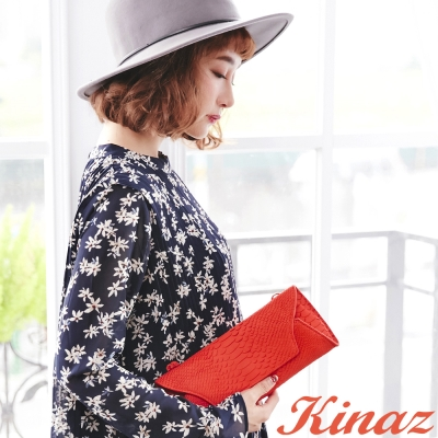 KINAZ - Rhapsody動物狂想曲系列~亮眼準則手拿/斜揹包