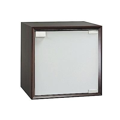 品家居 格吉1尺單門收納櫃(三色可選)-30x30x30cm免組