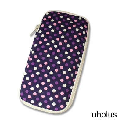 uhplus 長版收納夾心包- 紫式部