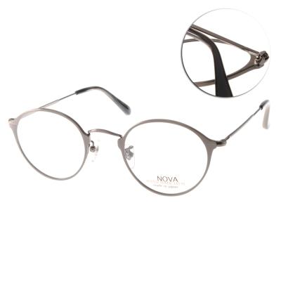 NOVA眼鏡-約翰藍儂復古圓框-槍銀-NV3016