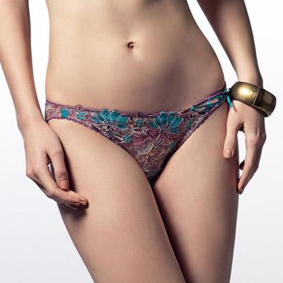 LADY-薇若妮卡系列-低腰三角褲-魅惑紫