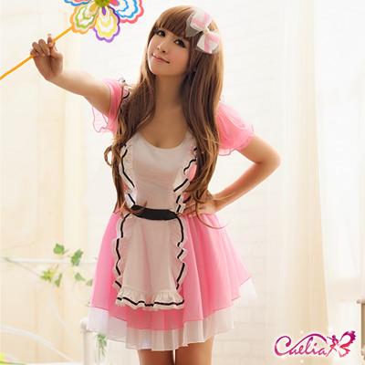 Caelia 草莓牛奶公主二件式角色扮演服