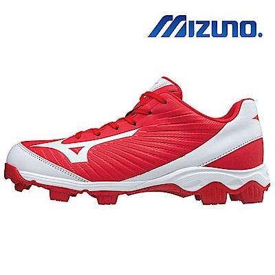 Mizuno 美津濃 男棒壘球鞋 紅 11GP175110