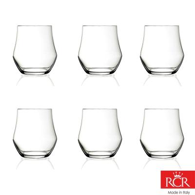 義大利RCR歐德無鉛水晶威士忌杯 (6入)380cc