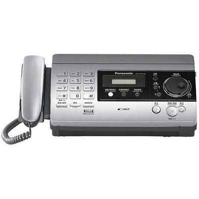 Panasonic 國際牌感熱紙傳真機KX-FT506 (閃銀色)