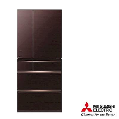 MITSUBISHI 三菱日本原裝705L六門變頻冰箱 MR-WX71Y/BR