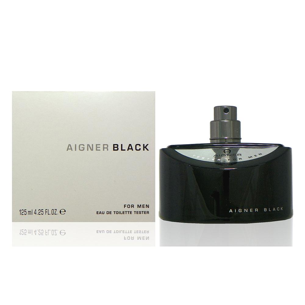 (海T)Aigner Black 真我男性淡香水 125ml Tester 包裝