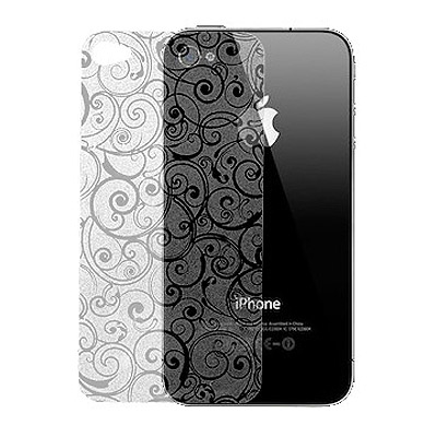 MOPAD魔貼 iPhone 4G/4S 背面專用古典雲彩保護貼