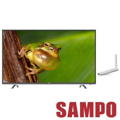 SAMPO聲寶-55吋-低藍光液晶-EM-55AT17D-OVO-Mini版-電視盒-D1