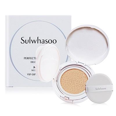 Sulwhasoo雪花秀 無瑕光感氣墊粉霜SPF50+ PA+++5g#21(旅用隨行裝)