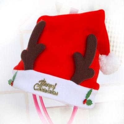 大鹿角造型聖誕帽