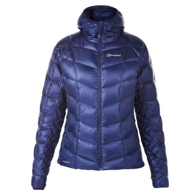 【Berghaus貝豪斯】女款ILAM 頂級溫度調節防潑水鵝絨外套F22F08藍