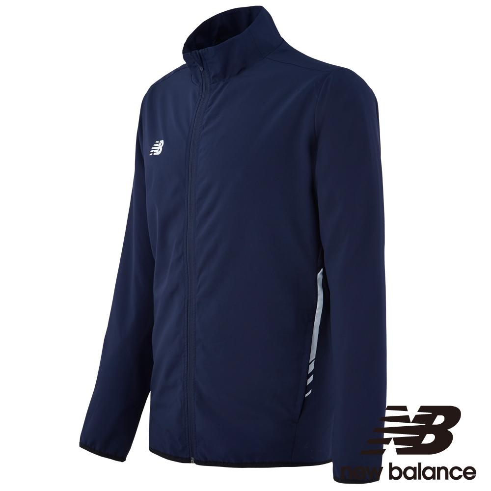 New Balance 運動風衣外套 MJ732017NV 男 丈青