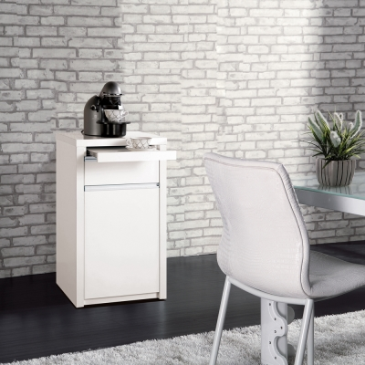 凱曼 巴洛斯1.5尺白色餐櫃收納櫃