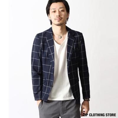休閒西裝外套ZIP日本男裝