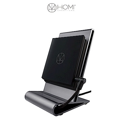 HOMI CoreStand 鋁鎂合金 QI 無線充電支架