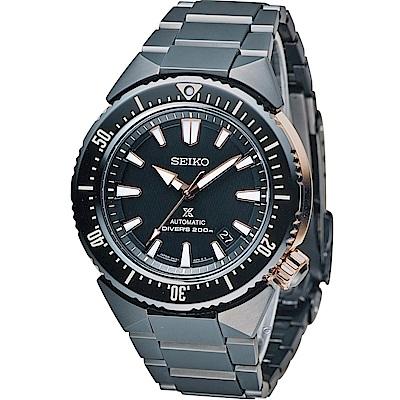 SEIKO PROSPEX DIVER 200M潛水機械錶(SBDC041J)黑/45mm