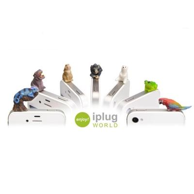 iplug_仿真動物造型 3.5mm 耳機防塵塞