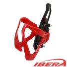 IBERA 自行車調整式水壺架 (紅)