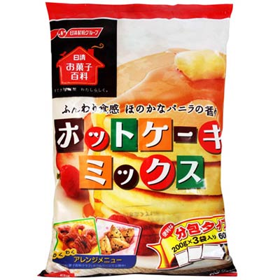 日清製粉-蛋糕鬆餅粉-600g