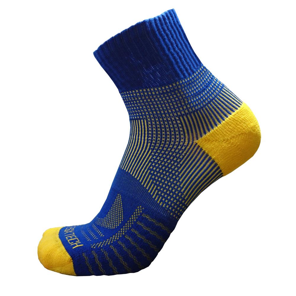 EGXtech 中統多功8字運動襪(P82藍黃)2雙入
