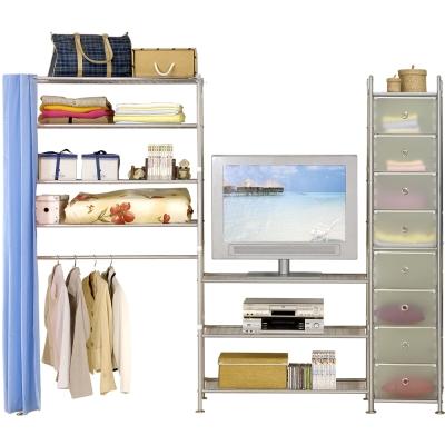 巴塞隆納─W4型90+90+D電視衣櫥置物櫃