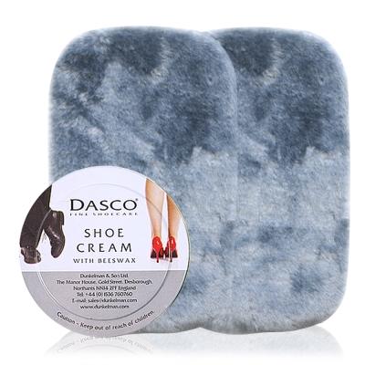 足的美形  英國Dasco伯爵蜜腊鞋膏(透明)+鞋布組x2