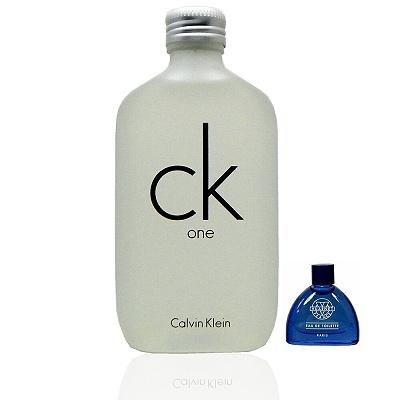 Calvin Klein Ck One 100ml + 藍調 3ml 小香(促銷)