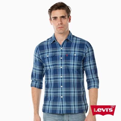 Levis 格紋襯衫 男裝 雙口袋