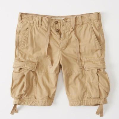 AF a&f Abercrombie & Fitch 短褲 卡其 009