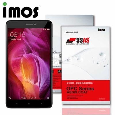 iMOS 小米 紅米 Note 4X 3SAS 疏油疏水 螢幕保護貼