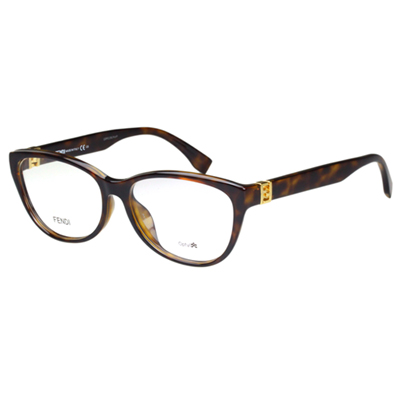 FENDI 時尚光學眼鏡 (琥珀色)FF1005