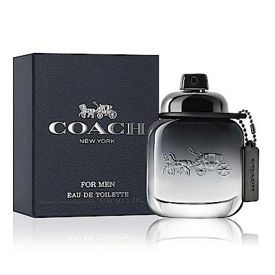 COACH 時尚經典男性淡香水40ml-快速到貨