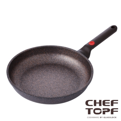 韓國 Chef Topf 崗石系列耐磨不沾平底鍋 28 公分