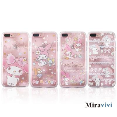 Sanrio三麗鷗iPhone 8/7 Plus施華落世奇水鑽防摔空壓保護套_美...