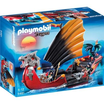 playmobil 龍城堡系列 龍砲艇戰船
