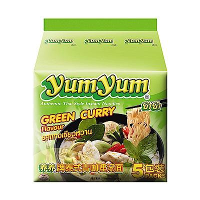 YUM YUM養養 泰式綠咖哩味麵(350g)