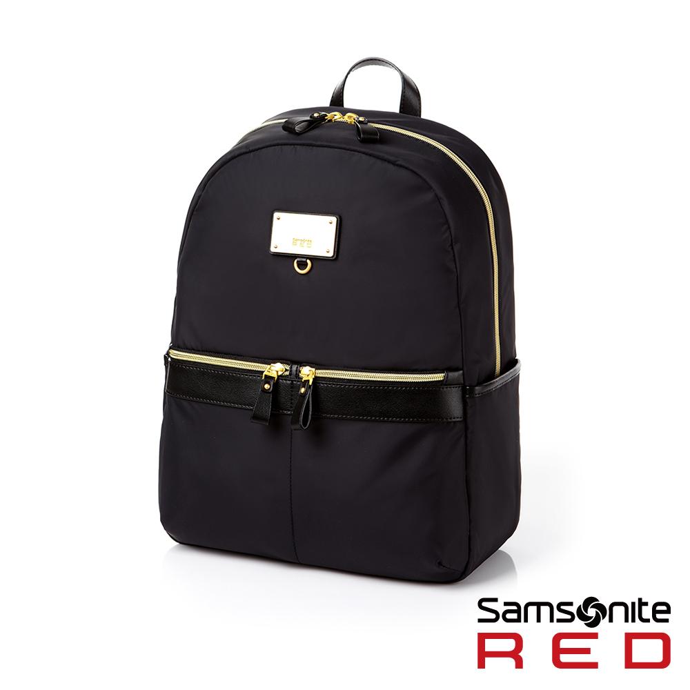 Samsonite RED  AIRETTE 經典輕盈大容量休閒女性筆電後背包 L 13吋