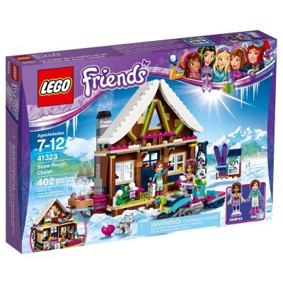 LEGO樂高 Friends系列 41323 滑雪渡假村小屋