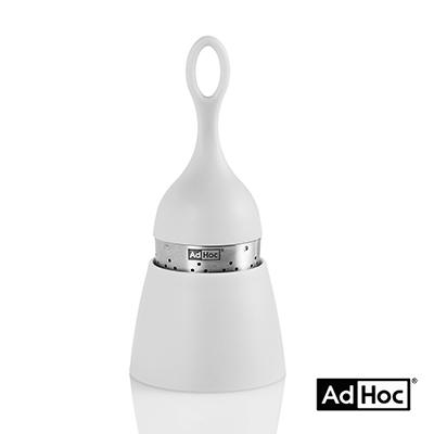 德國AdHoc 漂浮濾茶器(時尚灰)