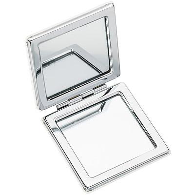 REFLECTS 方型雙面隨身鏡(白)