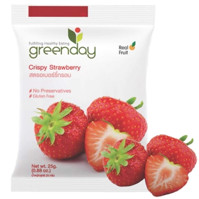 (活動)Greenday 草莓凍乾(25g)