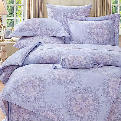 Saint Rose 歐貝拉 加大100%純天絲兩用被套床包四件組