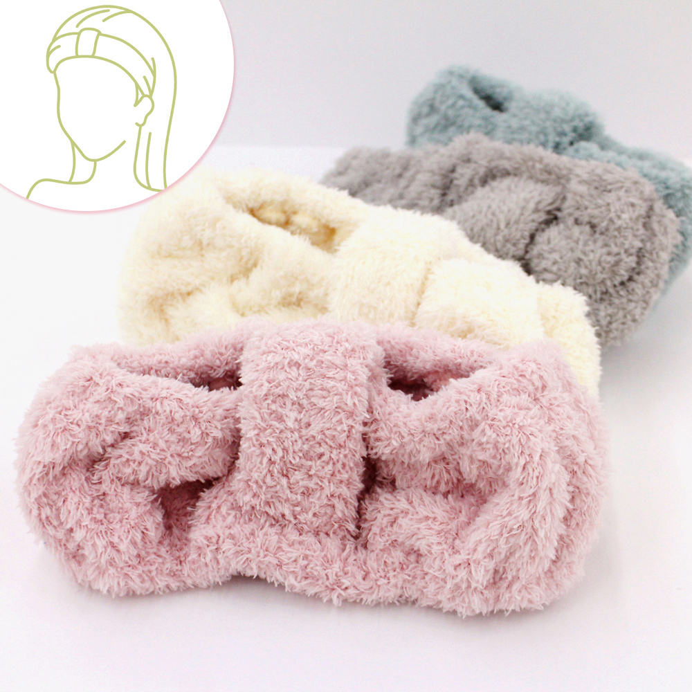 Fluffy雅絨柔舒髮束(1入-顏色隨機出貨)