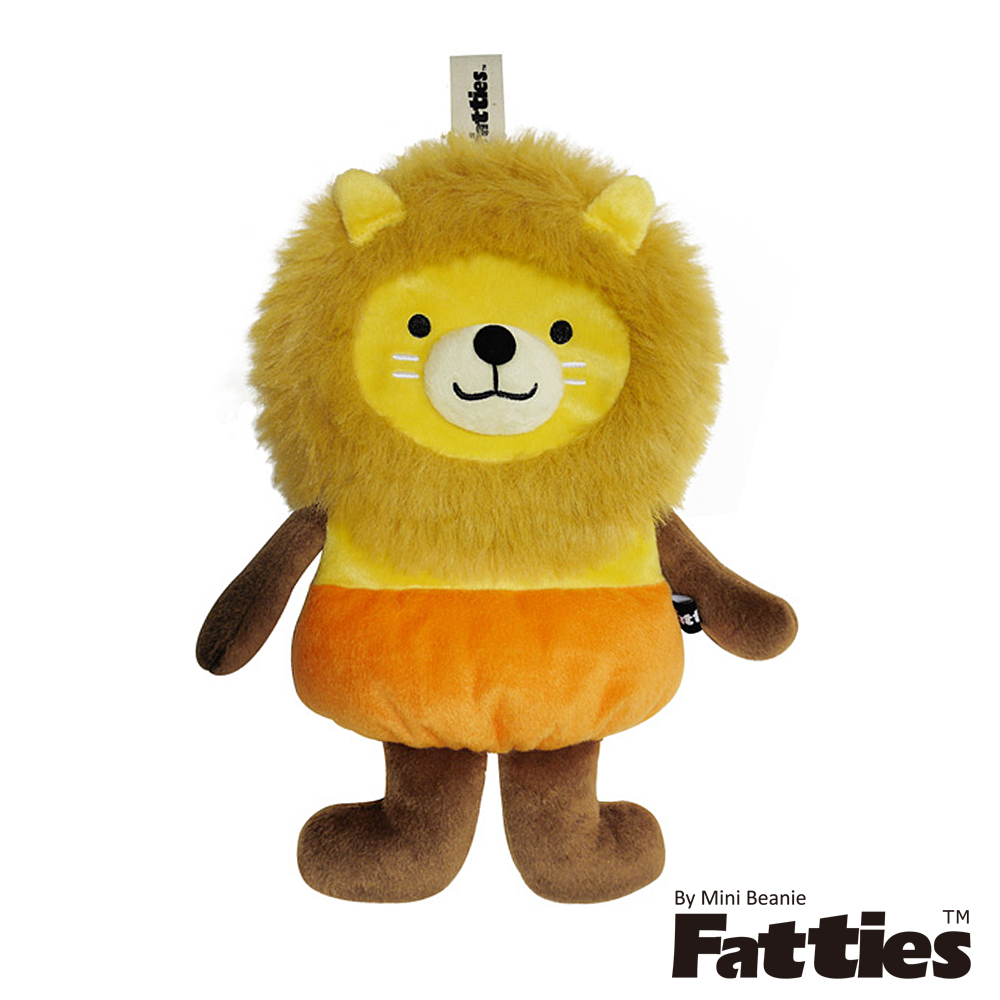 Fatties熱水袋熱敷袋俏皮獅子Lion動物玩偶