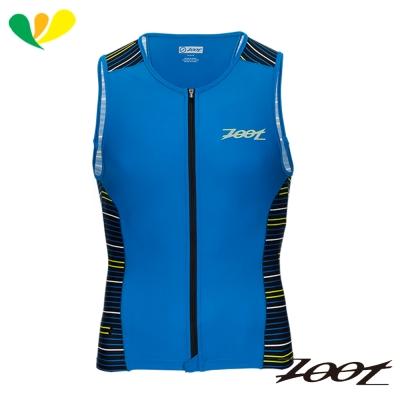 ZOOT 專業級全拉式肌能鐵人上衣(男)(速線藍) Z1706020