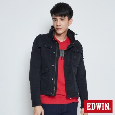 EDWIN M65軍裝外套-男-黑色
