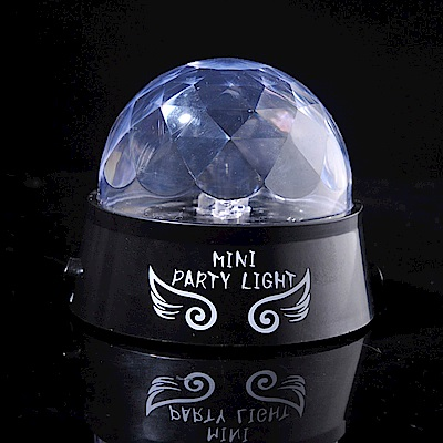 iSFun炫彩水晶球USB多色情境投影夜燈